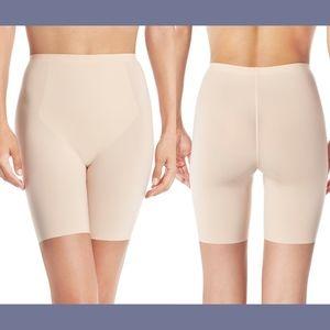 EUC! Spanx Thinstincts Mid-Thigh Shaper Shorts XL